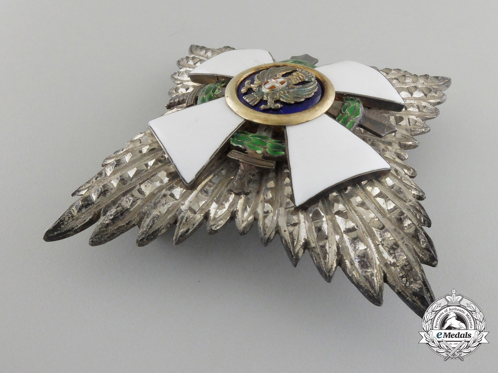 An Italian Order of the Roman Eagle; Breast Star