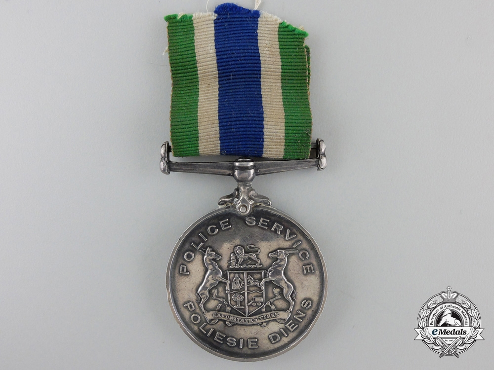 A South African Police Faithful Service Medal