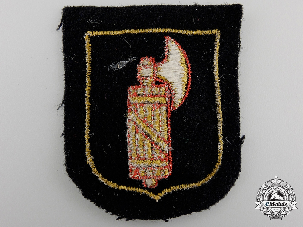 An Italian SS Volunteer Sleeve Shield
