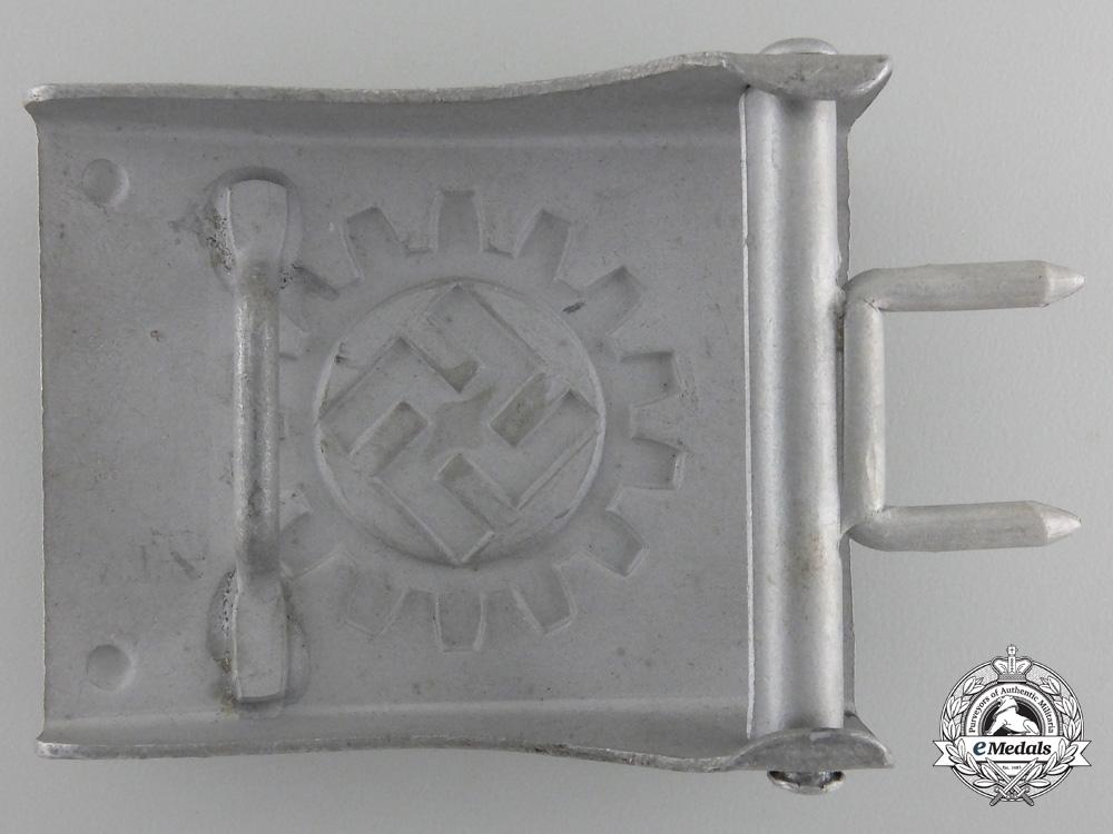 A DAF Belt Buckle