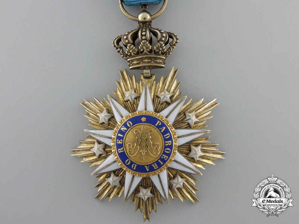 A Portuguese Order of Villa Vicosa; Breast Badge