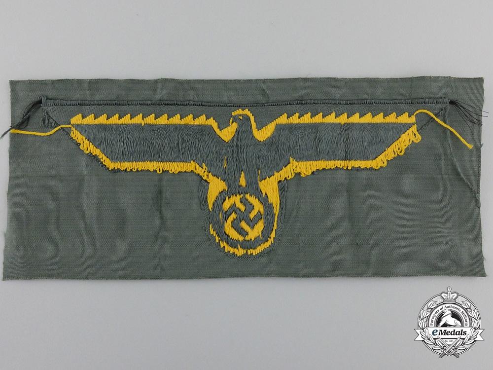 A Wehrmacht Coastal Artillery Breast Eagle