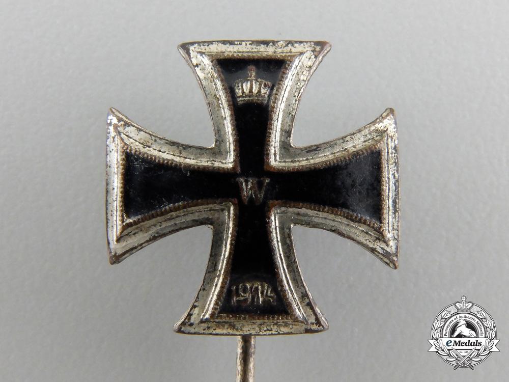 A First War Iron Cross 1st Class 1914 Stickpin