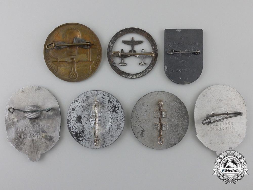 Seven Second War Period German Tinnies