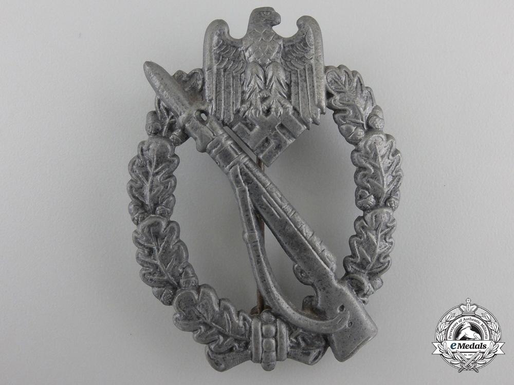 An Infantry Assault Badge; Silver Grade