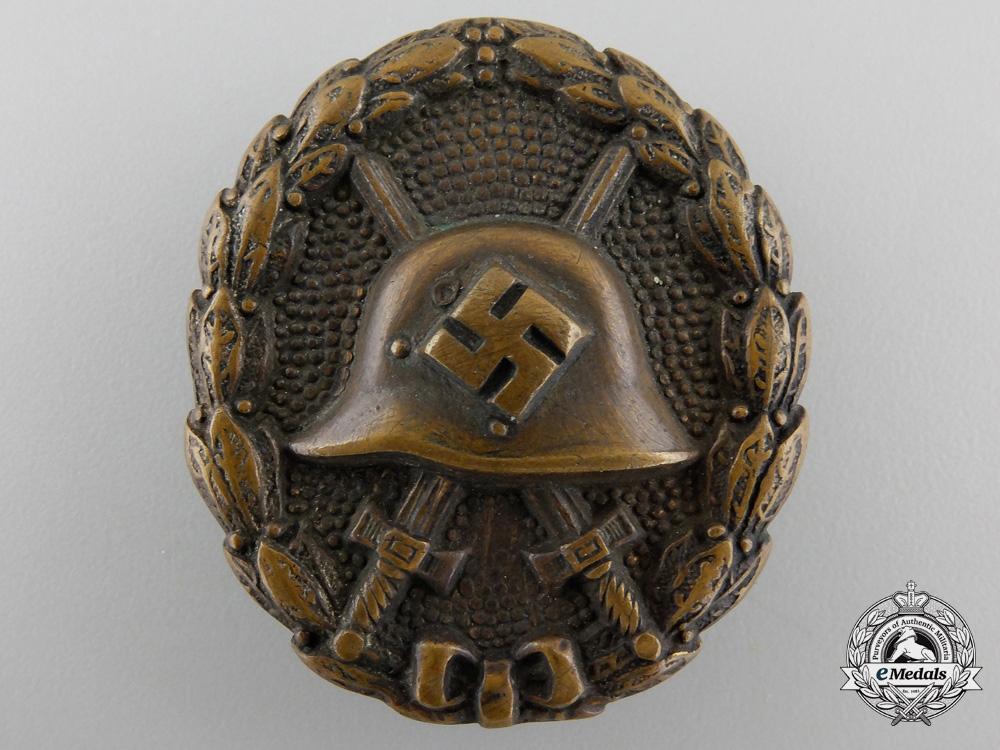 A Black Grade Wound Badge; Legion Condor