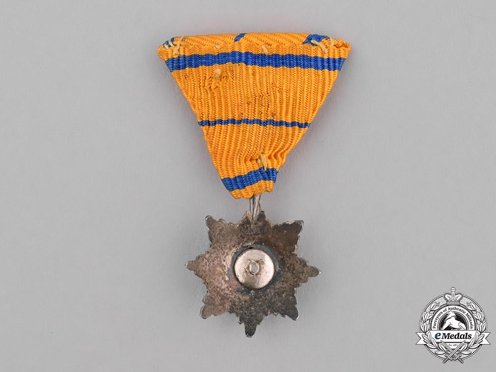 Estonia, Republic. A Miniature Order of the Eagle Cross, Grand Cross Star, c.1940
