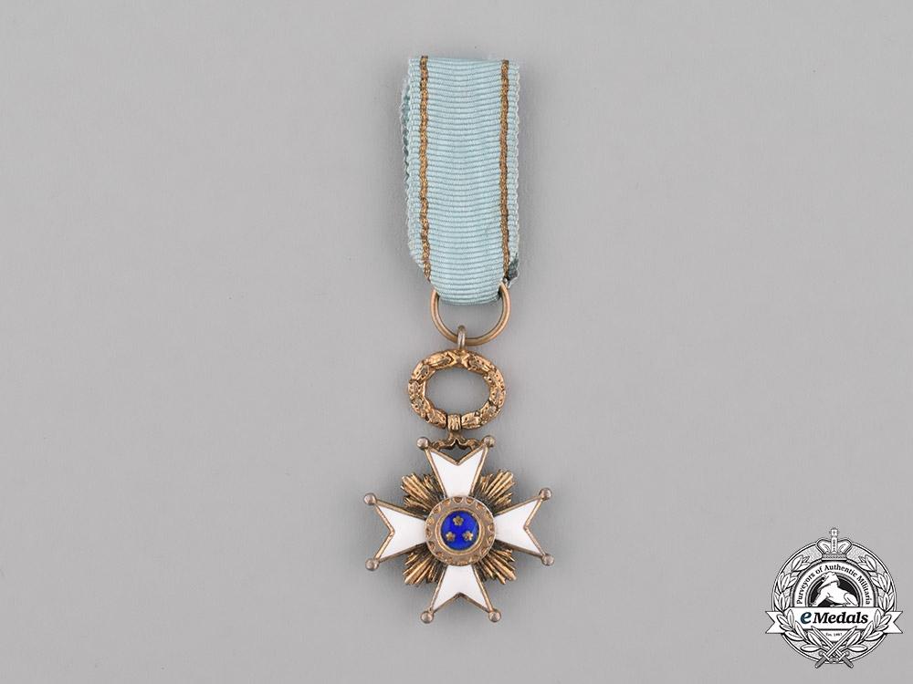 Latvia, Republic. A Miniature Order of the Three Stars, c.1930