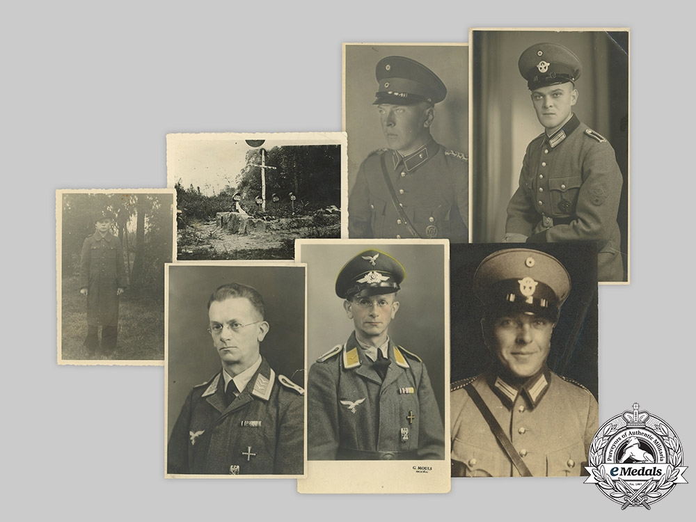 Germany, Wehrmacht. A Lot of Studio Portraits and Private Photos