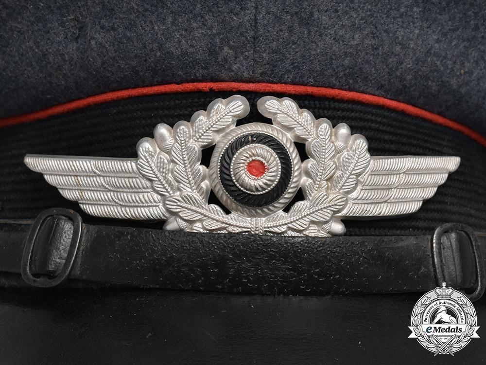 Germany. A 1937 Luftwaffe Artillery NCO's Visor Cap, by Robert Lubstein