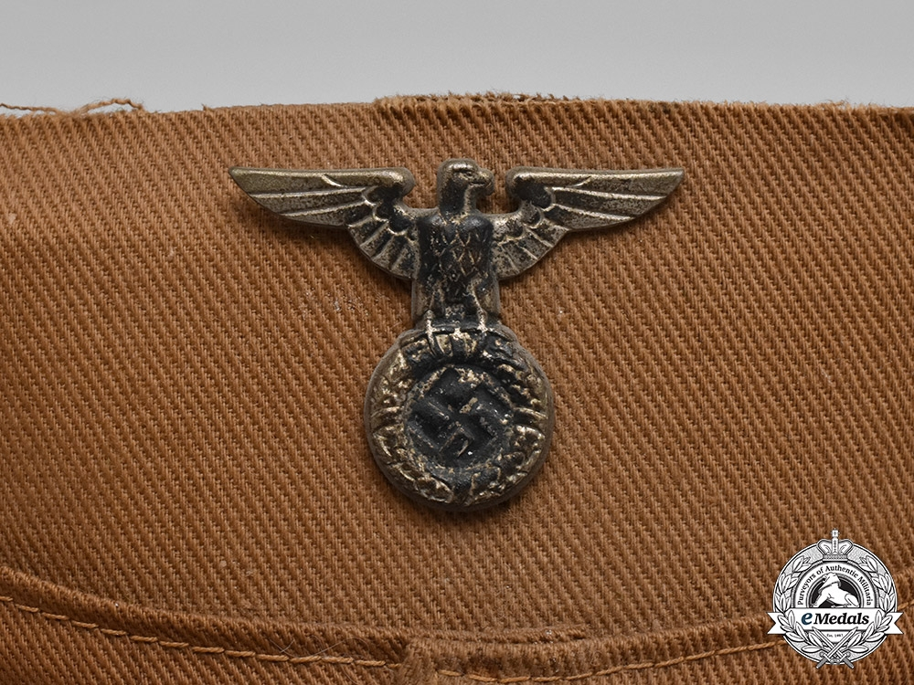 Germany, Third Reich. An Early Sturmabteilung (SA) Kepi