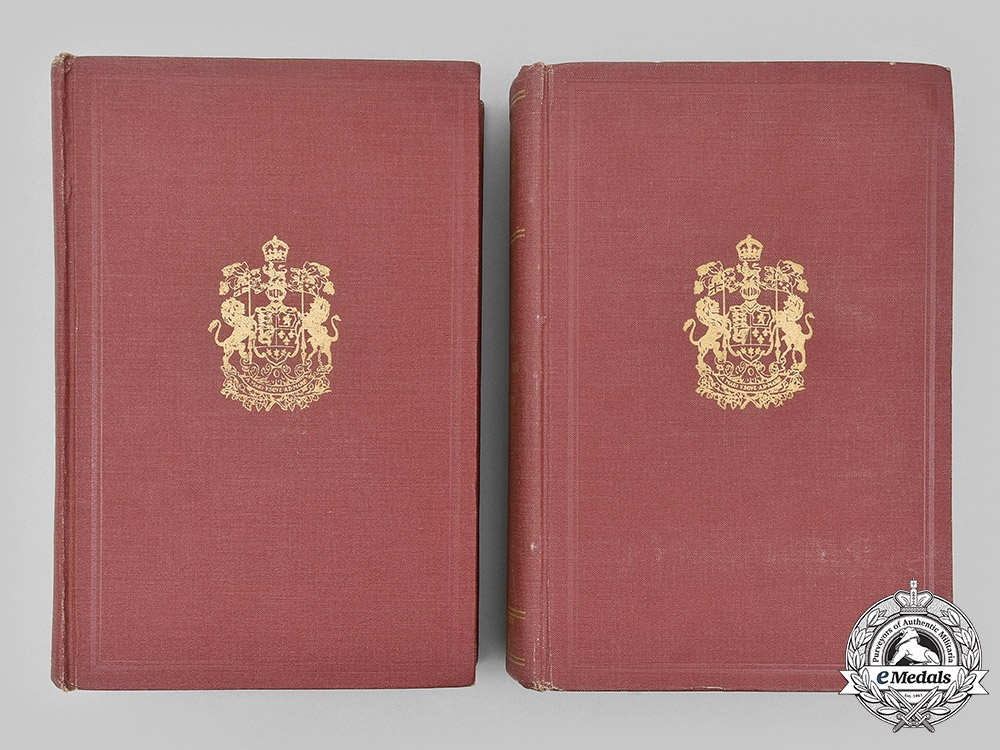"""Canada. An Official History of the Canadian Forces 1914-19, General Series Volume I, from the Outbreak of War to the Formation of the Canadian Corps, August 1914 - September 1915""""."""