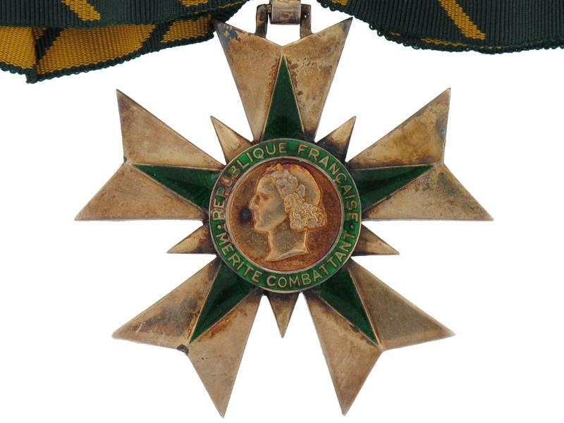 Combattant Order of Merit