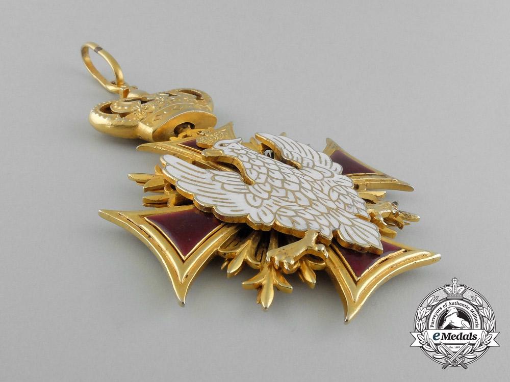 A Rare Polish Ecclesiastical Order of White Eagle
