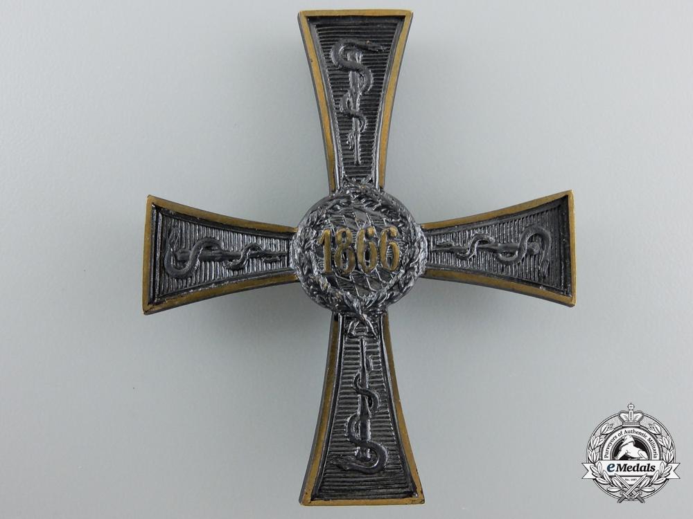 A Bavarian 1866 Commemorative Cross for Civil Medics