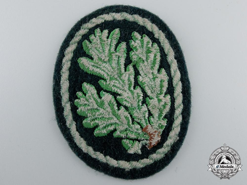 A Second War German Jager Regiment Cloth Patch