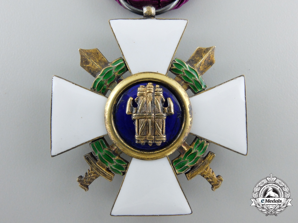 Italy, Fascist State. An Order of the Roman Eagle with Swords, Knight 1942-1943