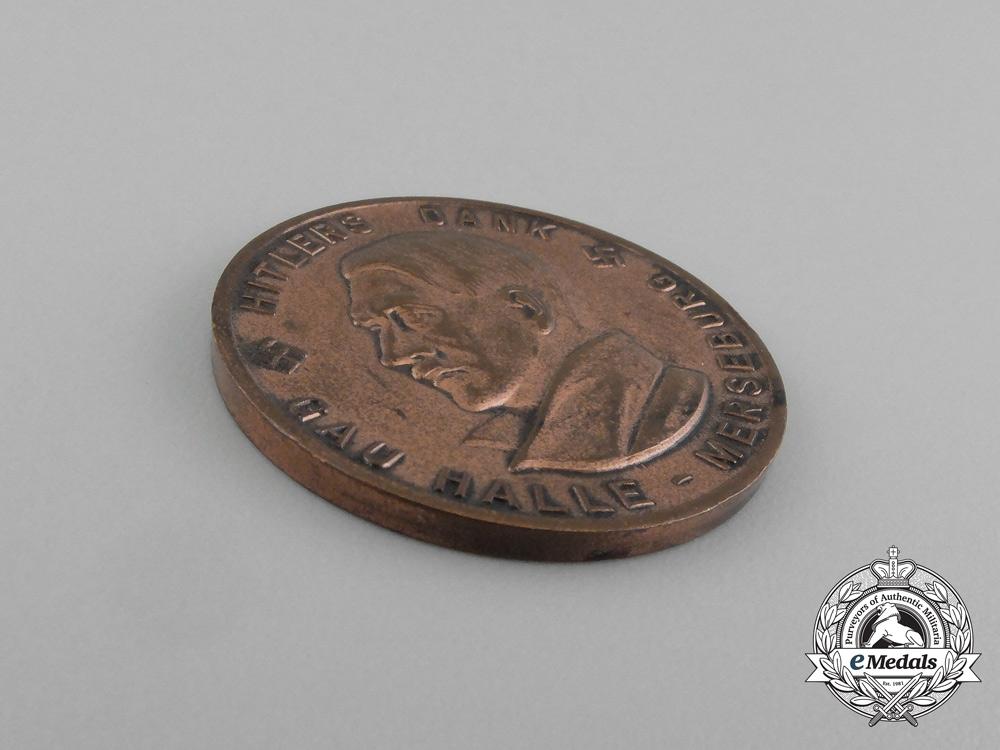 AH Medal & GAU Halle 1934