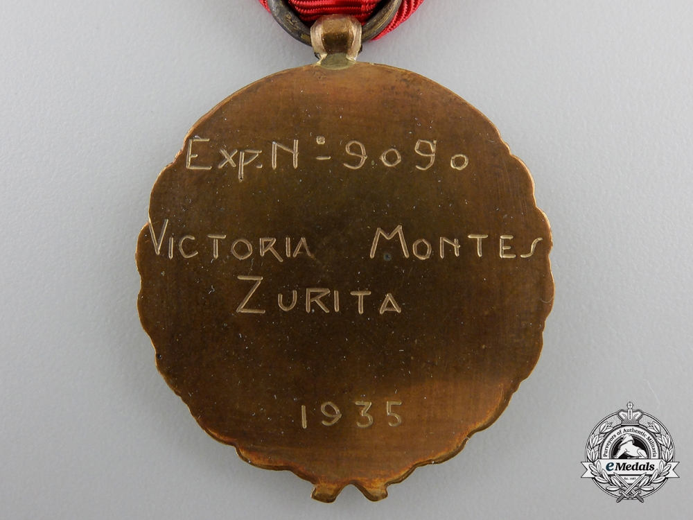 A Spanish Falange Party Grouping to Victoria Montes Zurita