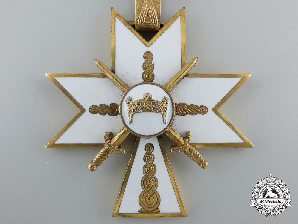 Croatia, Independent State. Order of King Zvonimir's Crown; 1st Class with Swords in Case