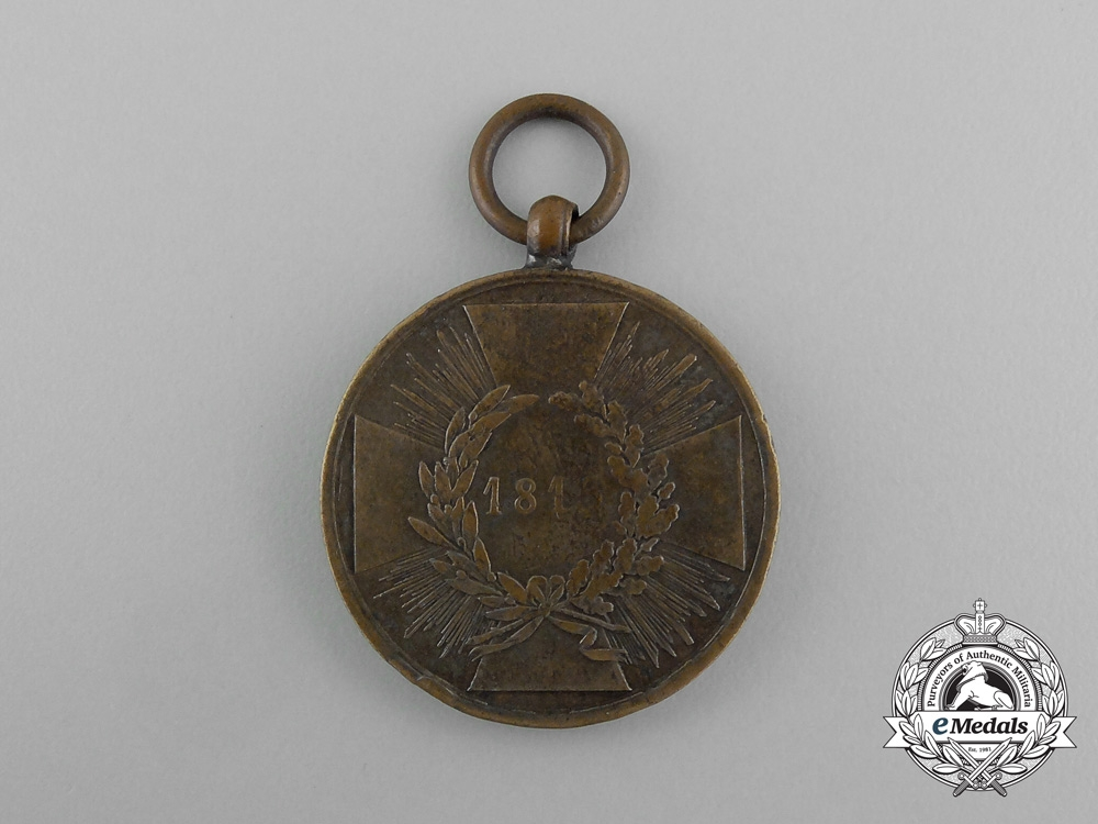A 1815 Prussian War Campaign Medal