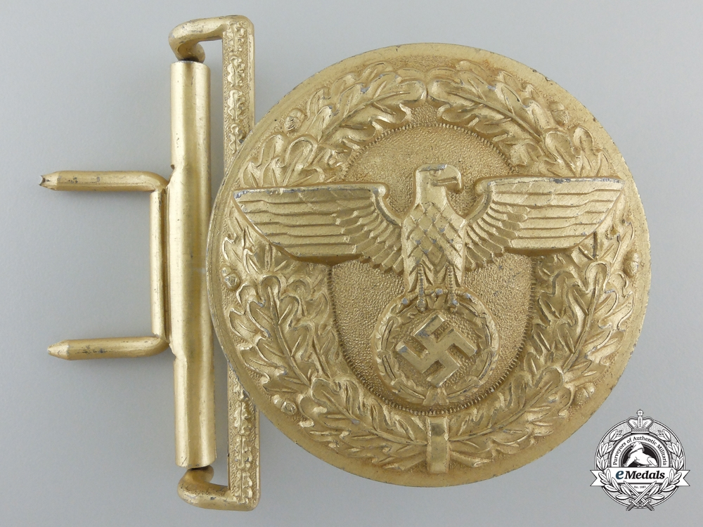 A Belt Buckle for Political Leaders of the NSDAP by Wilhelm Deumer