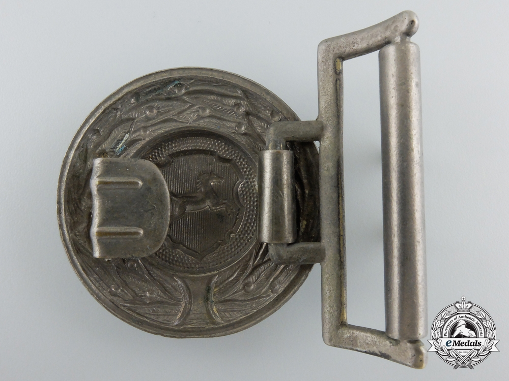 A German Province Hannover 1930's Firefighter's Officer's Buckle
