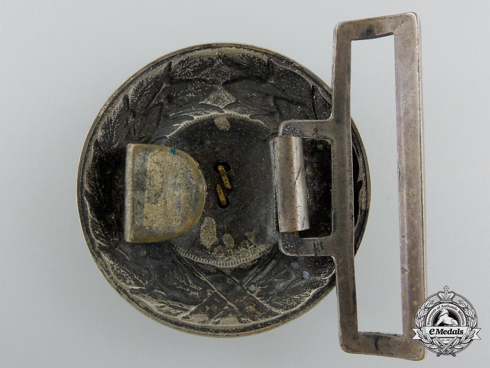 A German pre-1934 Fire Defense Officer's Buckle