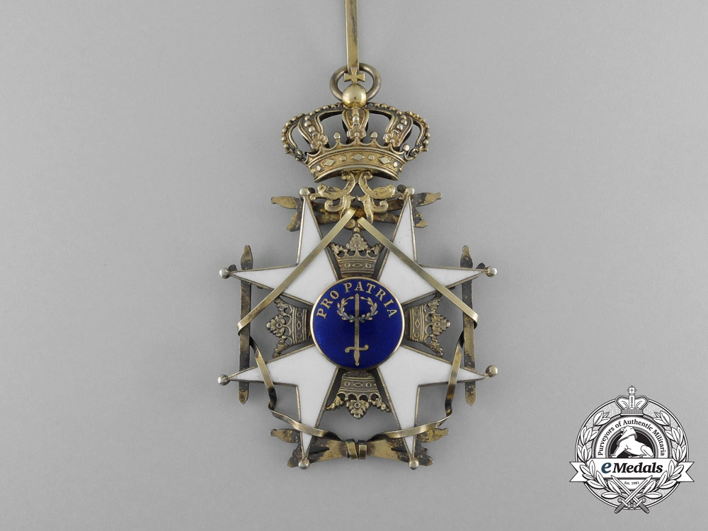 Sweden, Kingdom. An Order of the Sword, Commander, by C.F. Carlman, c.1920