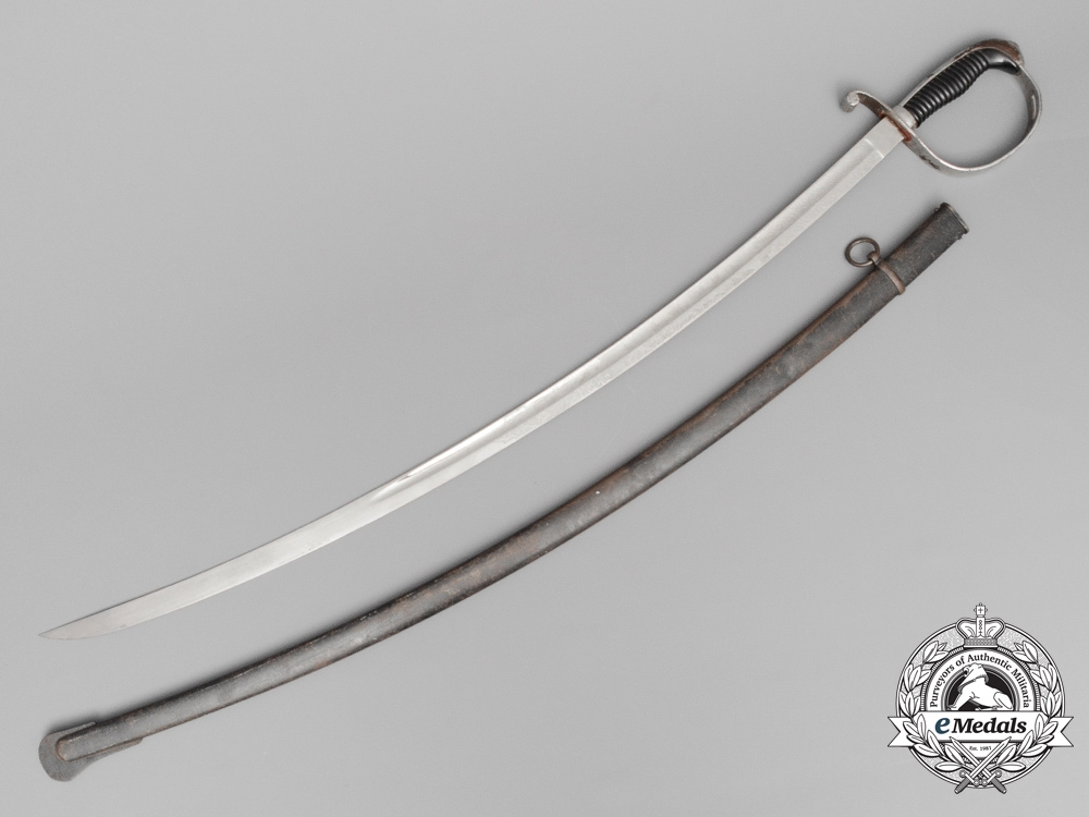 A Pre First War 8th Bavarian Field Artillery Regiment Officer's Sword 1900-1911; Named