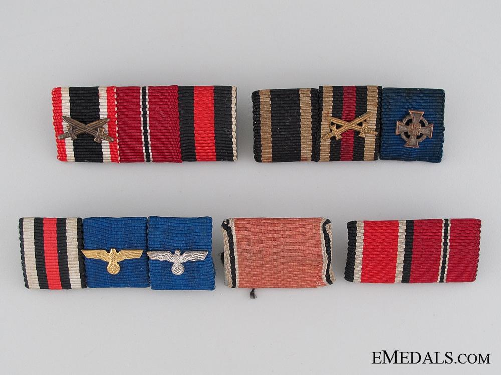 Five Army Ribbon Bars