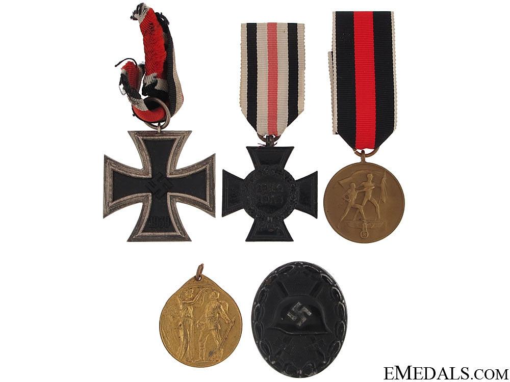 Five German Awards