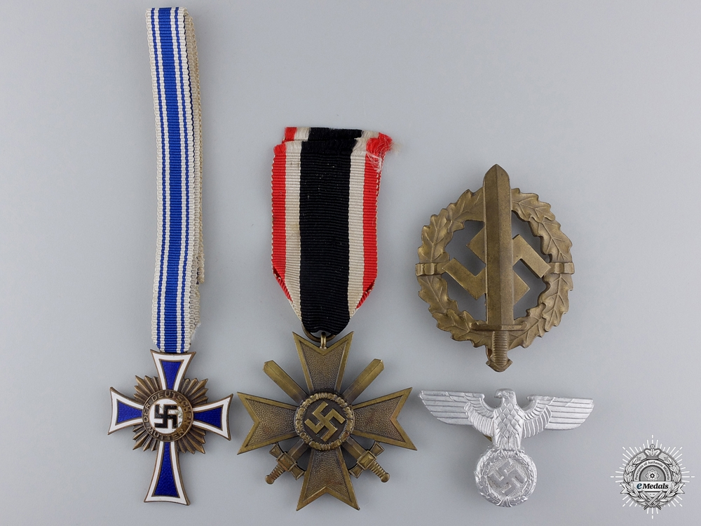 Five Second War German Awards & Insignia