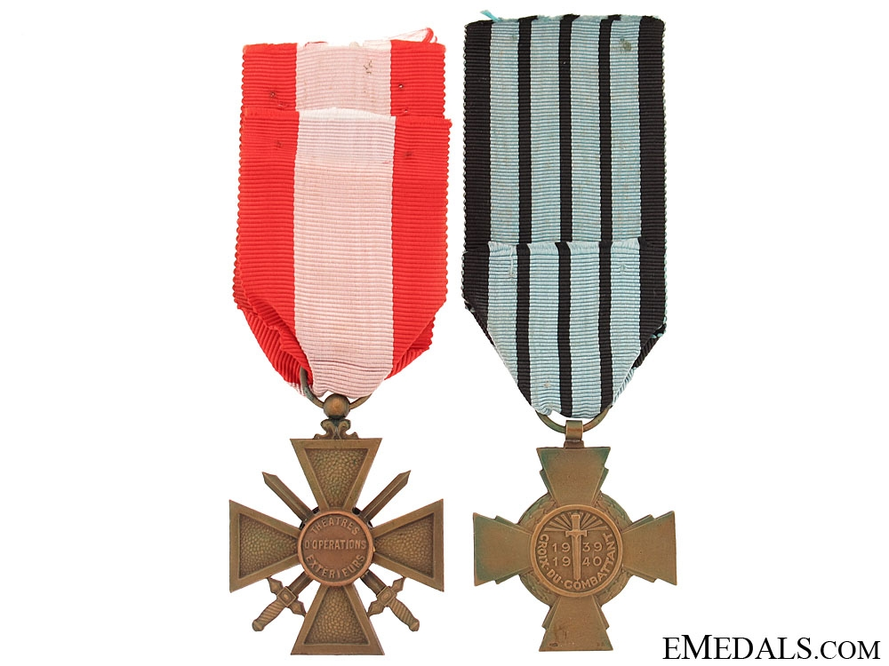 Two French Medals