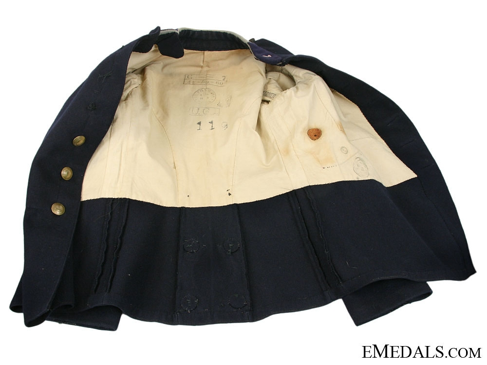 A First War French Foreign Legion Tunic, 1914