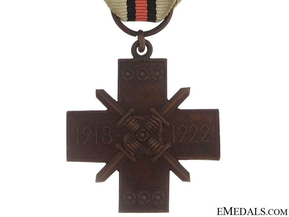 Kindred Nations War Cross (Heimosotaristi), 1918-1922