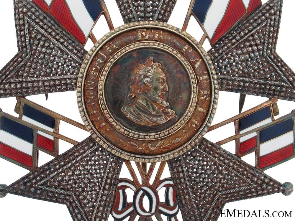 Legion DHonneur - Grand Cross Breast Star