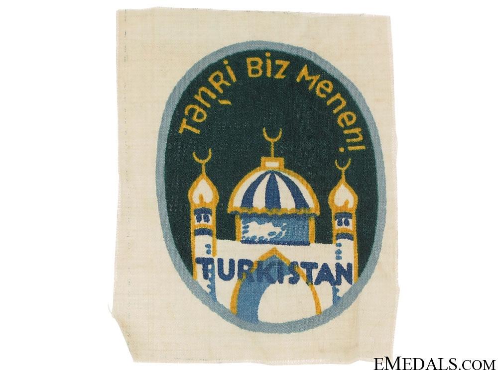 Foreign Volunteer Arm Shield-Turkistan Legion