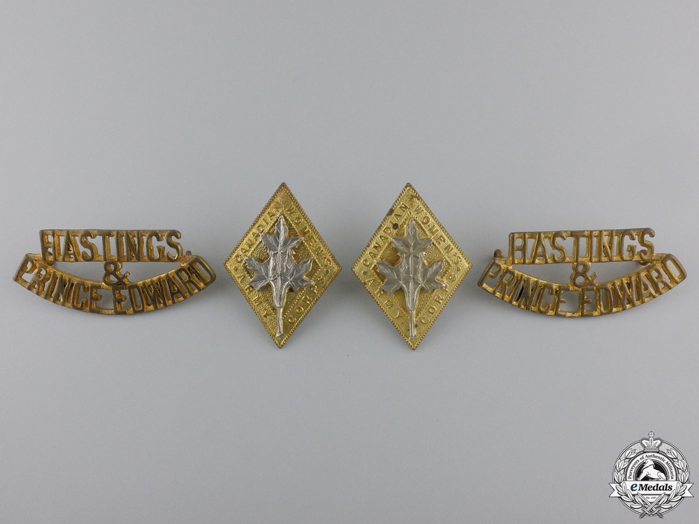 Four Canadian Second World War Badges  consignment #28