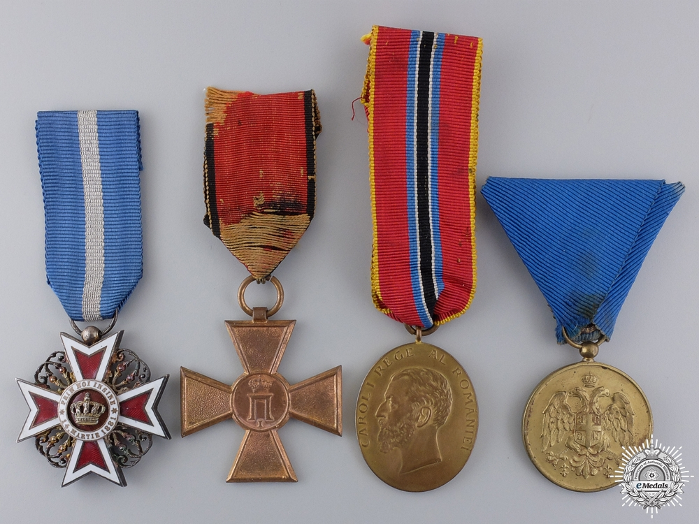 Four European Orders and Awards