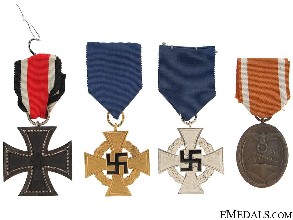 Four German Awards