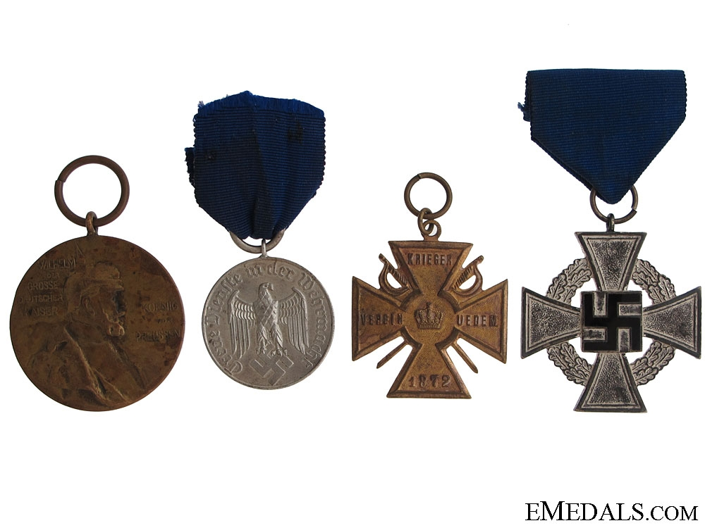 Four German Awards