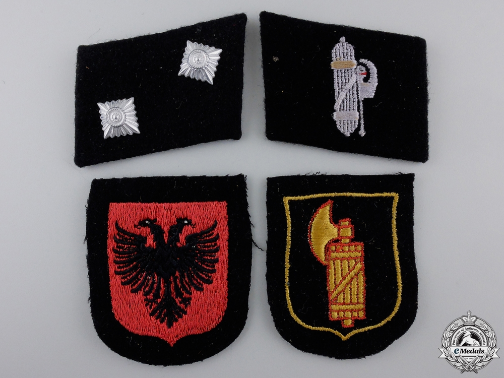 Four Second War German Insignia