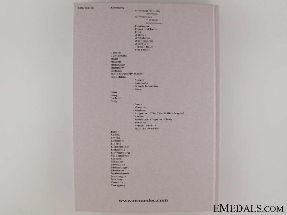 Pre Order of Part III Reference Catalogue