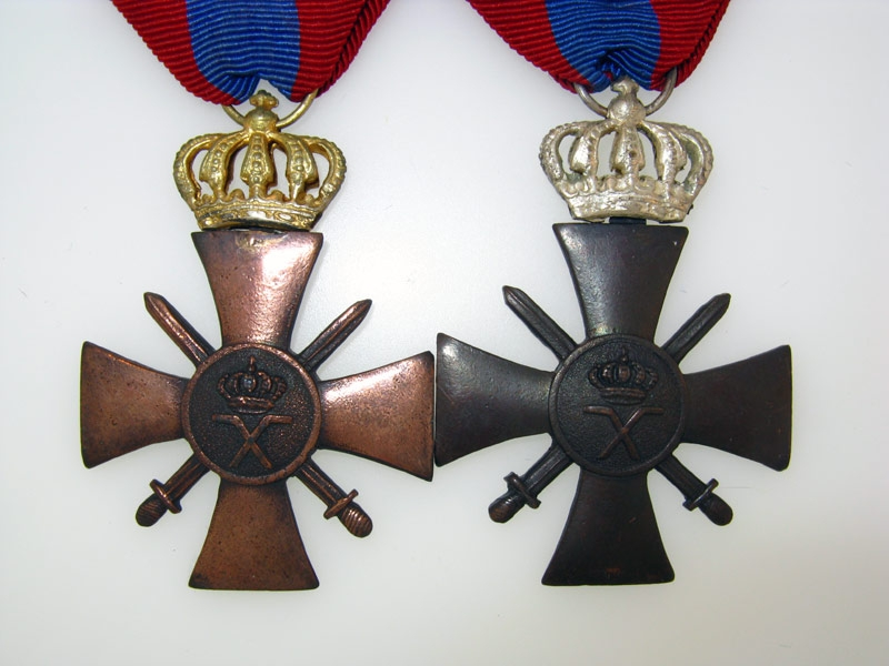 Two War Crosses 1940