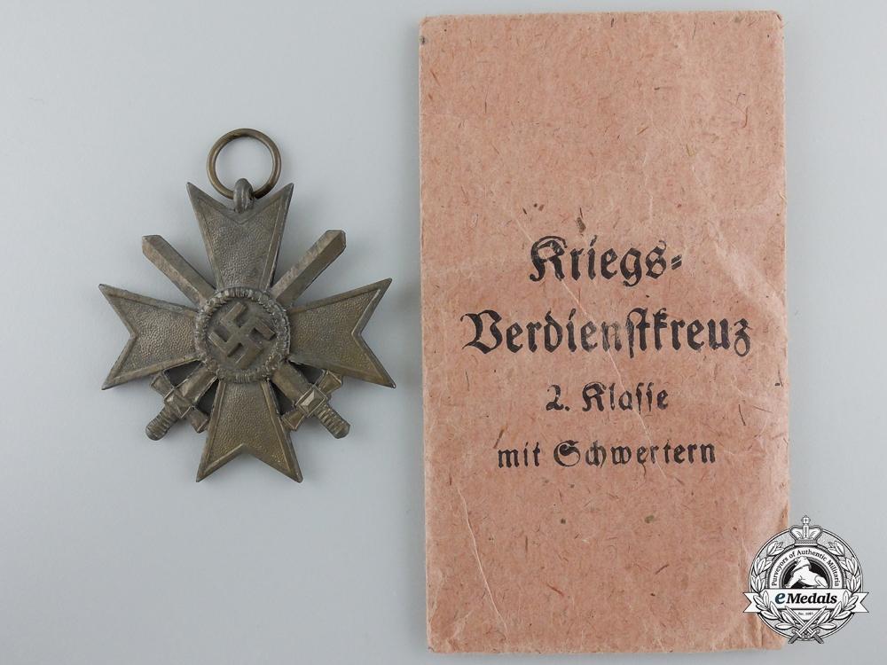 An Austrian-Made War Merit Cross 2nd Class with Swords, with Packet