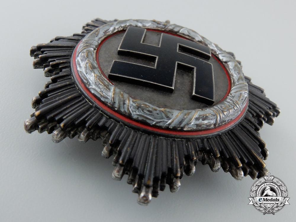 A German Cross in Silver by Zimmermann with Case