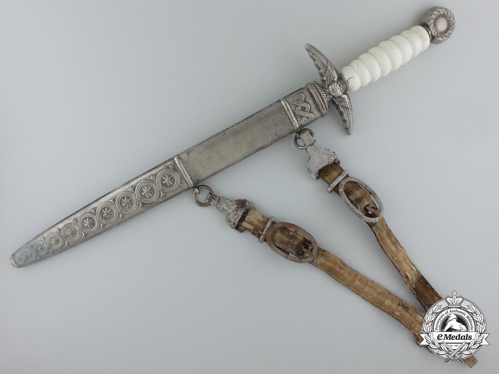 Croatia. An Unusual Second War Croatian Air Force Dagger with PTS Dagger Blade
