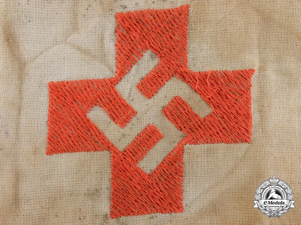 A Rare NSDAP/SA German Red Cross Armband, c. 1930s