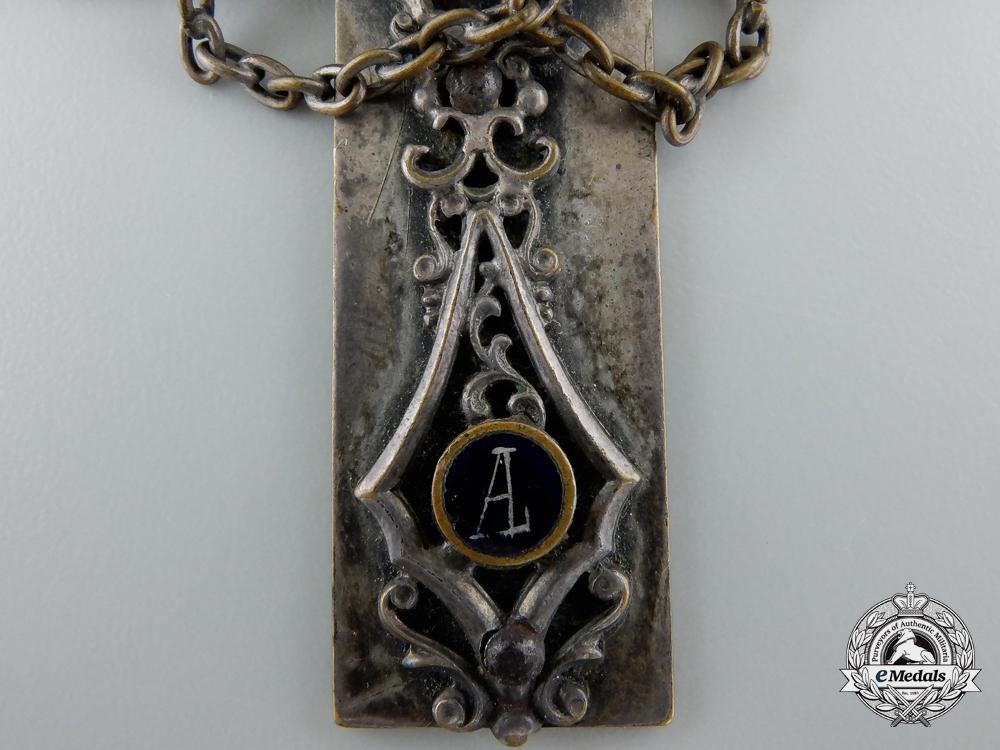 A Franco-Prussian War French Padre's Crucifix